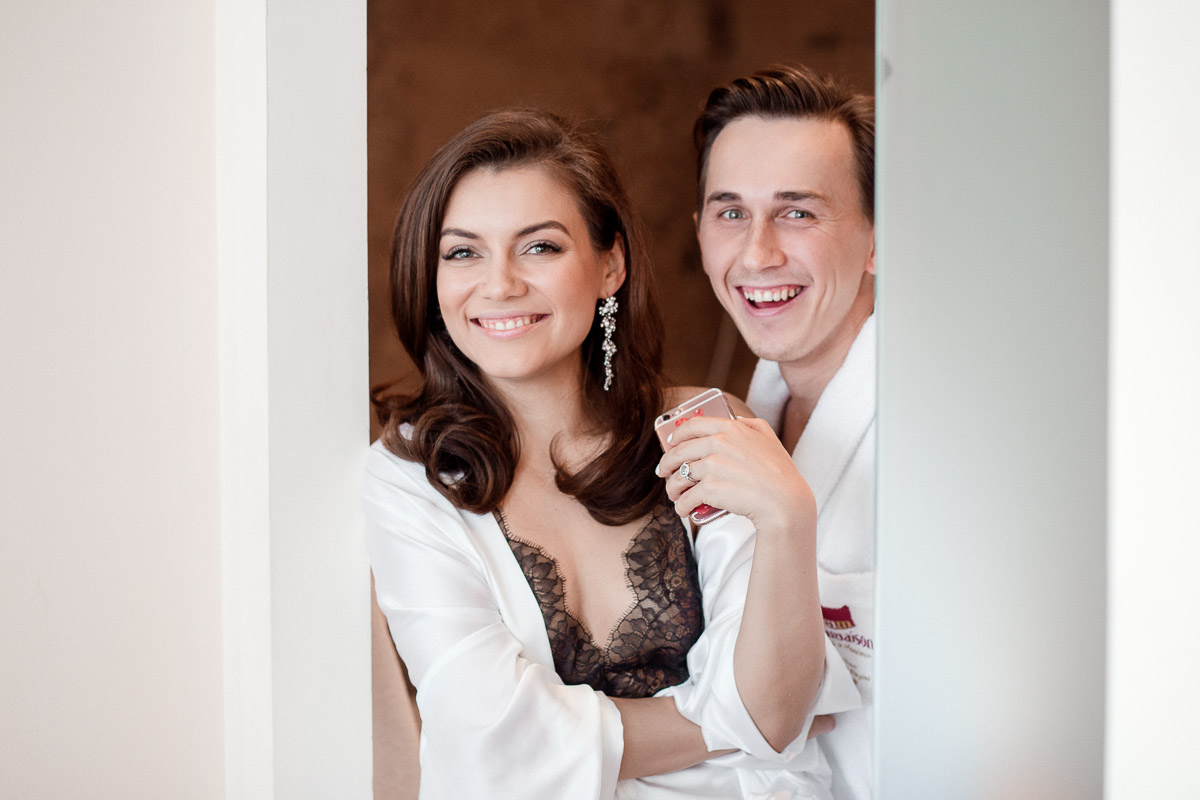 wedding photographer in Moscow